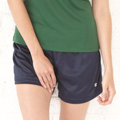 Ladies' Tagless Active Mesh Shorts