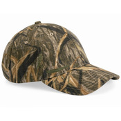 Structured Mid-Profile Camouflage Cap
