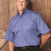 Short Sleeve Twill Shirt Tall Sizes
