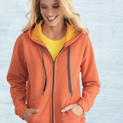 Ladies' Heavy Blend™ Vintage Missy Fit Full-Zip Hooded Sweatshirt