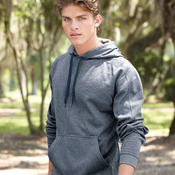 Polyester Fleece Hooded Pullover