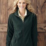 Ladies' Moisture-Resistant Micro Fleece Jacket