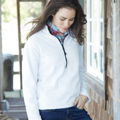 Ladies' Classic Fleece Half-Zip Pullover