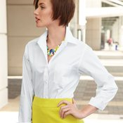 Ladies' Broadcloth Long Sleeve Shirt
