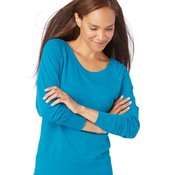 Ladies' French Terry Slouchy Pullover