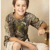 Youth Realtree® Camouflage Short Sleeve T-Shirt
