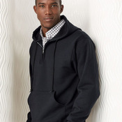 Quarter-Zip Hooded Pullover